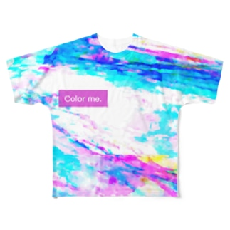 Color me.7 Full graphic T-shirts