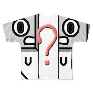 カセットテープ君 ? Full graphic T-shirts