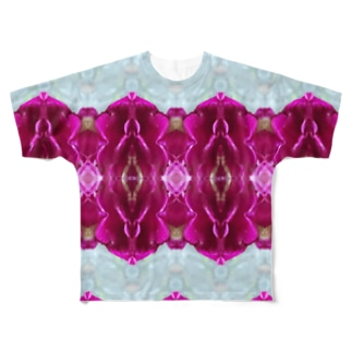 Villa Rabian rose Full graphic T-shirts