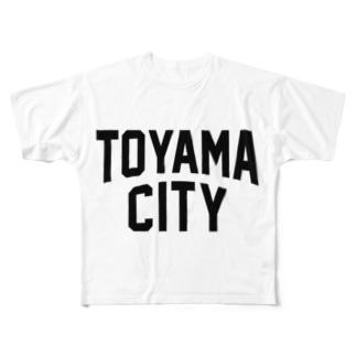 toyama city 富山ファッション アイテム Full graphic T-shirts