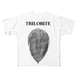三葉虫 Full graphic T-shirts