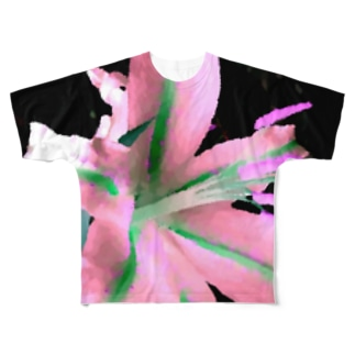 Wild Lily Variation Full graphic T-shirts