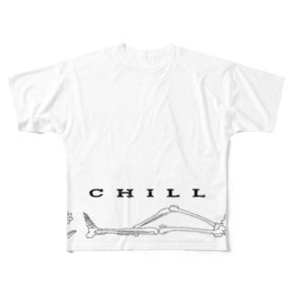 マッチアンドポンプ舎 suzuri支店のChill Full graphic T-shirts