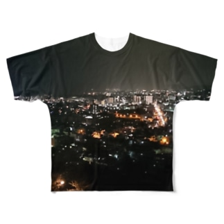 Night Scape Full graphic T-shirts
