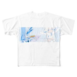 きりとり① Full graphic T-shirts