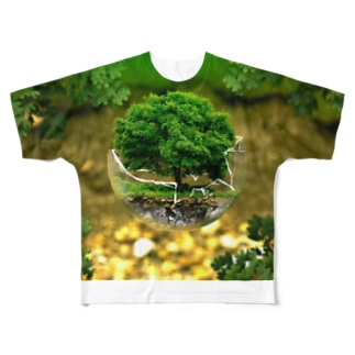 Protect the environment Full graphic T-shirts