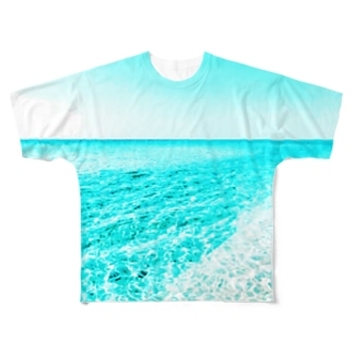 台南の海 Full graphic T-shirts