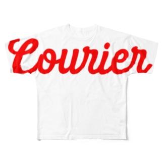 配達員〜Courier〜フル Full graphic T-shirts