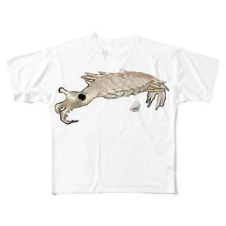 401子の401子社 Full graphic T-shirts