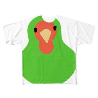 コザクラインコ Full graphic T-shirts
