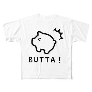 BUTTA! Full graphic T-shirts