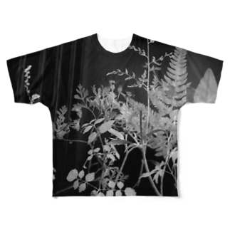 植物学 Full graphic T-shirts