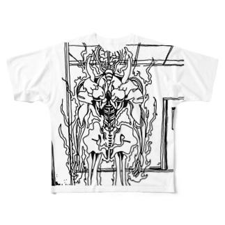 fireman Full graphic T-shirts
