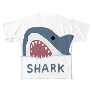 サメ Full graphic T-shirts