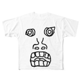 がりおじ Full graphic T-shirts