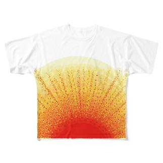 おはようさん(原画バージョン) Full graphic T-shirts