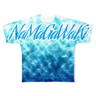 生乾きTシャツ Full graphic T-shirts
