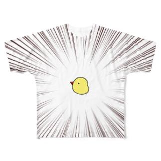 ひよこ Full graphic T-shirts