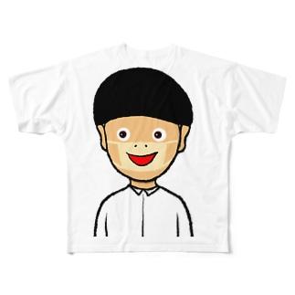 現代病 Full graphic T-shirts