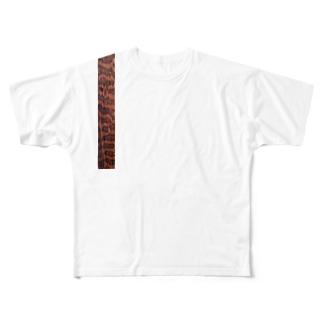 スネークウッド Full graphic T-shirts
