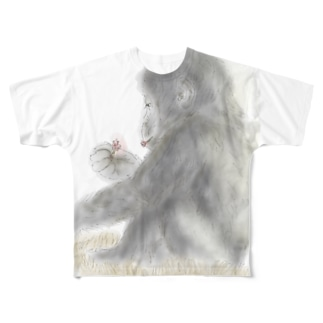 ひとりあそび Full graphic T-shirts