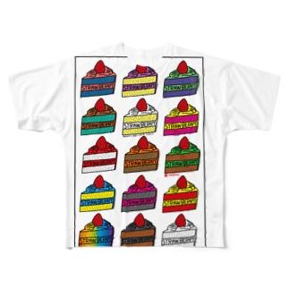 CAKE Full graphic T-shirts