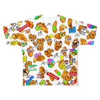 HARAJUKU AGEKAWAII Full graphic T-shirts