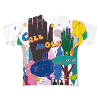 CALL MOLA Full graphic T-shirts