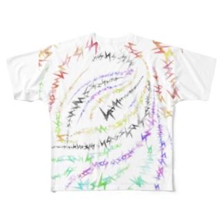 イバラ Full graphic T-shirts