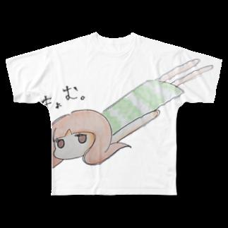 yumeyorimoのきょむ Full graphic T-shirts