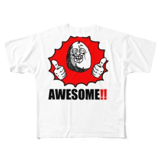 AWESOME!! Full graphic T-shirts
