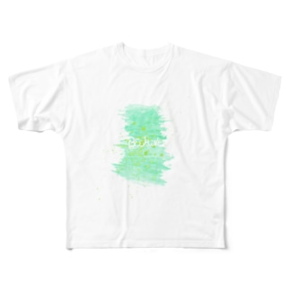 TextLogo - Paint Full graphic T-shirts