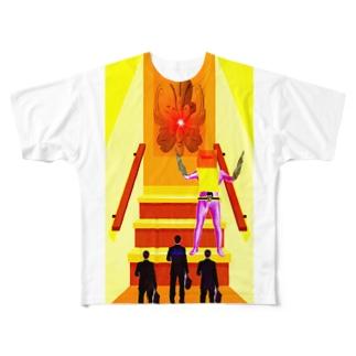 重役リモート面接 Full graphic T-shirts