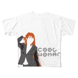 いい女 Full graphic T-shirts