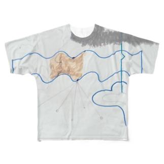 線 Full graphic T-shirts