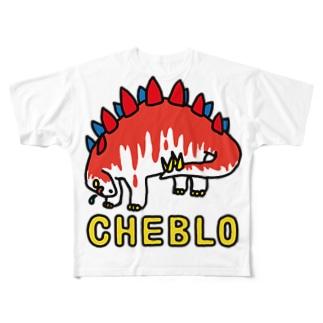 ザウリ赤白 Full Graphic T-Shirt