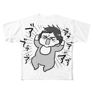 ア゛ア゛ア゛ア゛ Full graphic T-shirts