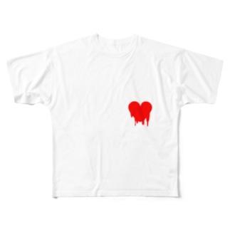 めるとなきもち 2 Full graphic T-shirts