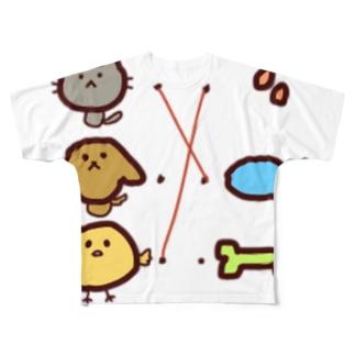 どれがどれ? Full graphic T-shirts