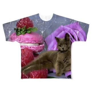 スイーツ姫 Full graphic T-shirts