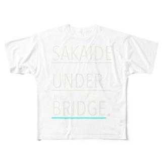 SAKAIDE UNDER the BRIDGE. Full graphic T-shirts