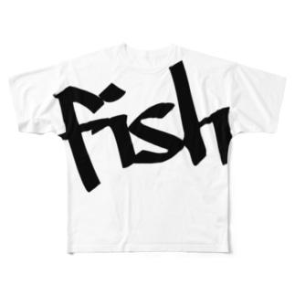 フィッシュ3 Full graphic T-shirts