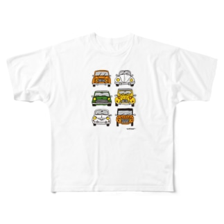 CARS Full graphic T-shirts