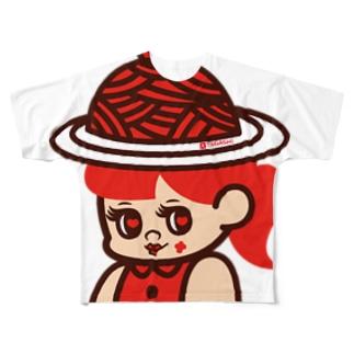 ナポリタンハット Full graphic T-shirts