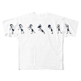 i believe in iTA-Choco B Full graphic T-shirts