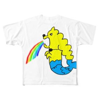 虹のGERO Full graphic T-shirts