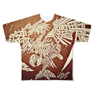 YATAGARAS Full graphic T-shirts