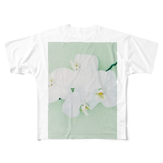 harucamera コチョウラン-2 Full graphic T-shirts