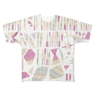夜の帳 Full graphic T-shirts
