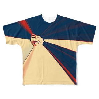 徳さんの洗礼 Full graphic T-shirts